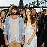 2010: Angus Stone and Isabel Lucas