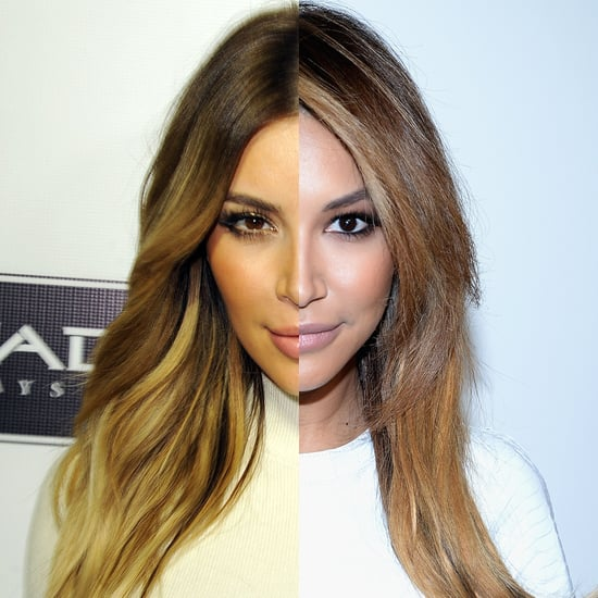 Naya Rivera Looks Like Kim Kardashian