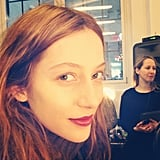 Makeup artist Tom Pecheux's beauty secret? Using your fingers to apply lipstick.