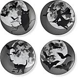 Williams Sonoma Halloween Moon Plates