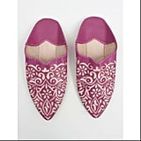 Pink Moroccan Babouche Slippers