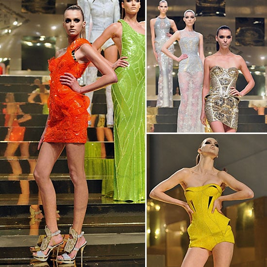 Review and Pictures of Atelier Versace at 2012 Paris Haute Couture Fashion Week