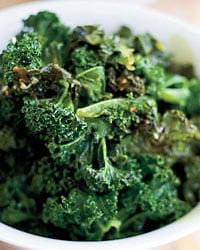 Easy Braised Kale Thanksgiving Side Recipe 2009-11-23 20:59:47