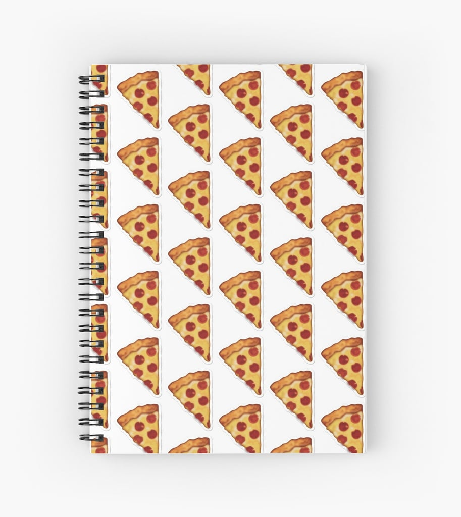Pizza Emoji Spiral Notebook