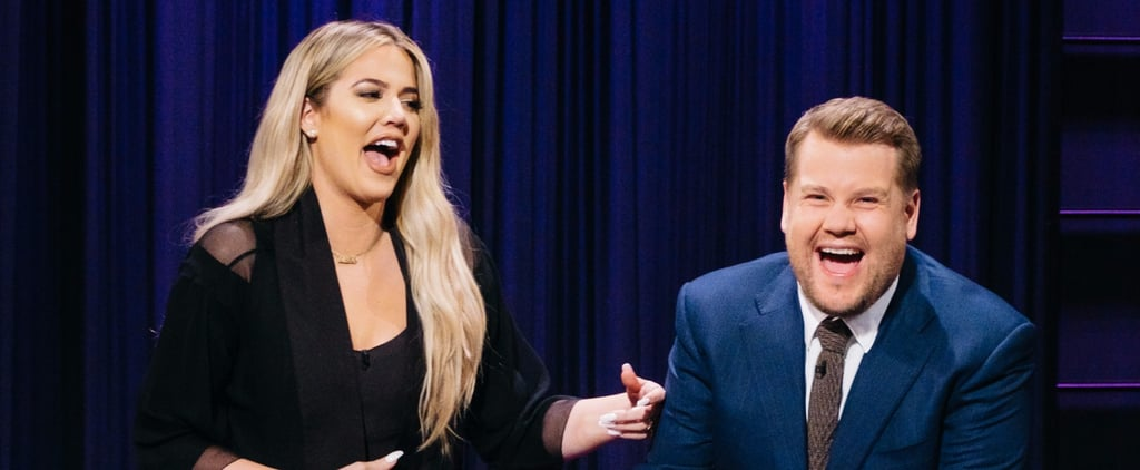 Khloe Kardashian Playing Spill Your Guts With James Corden