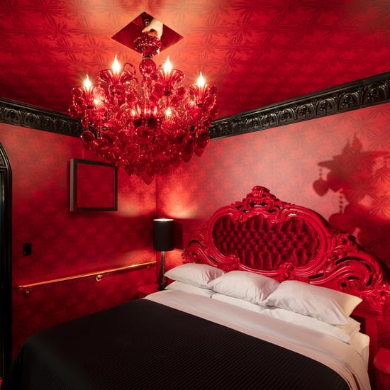 Elegant Dracula Motel Suite at the Roxbury Motel in New York