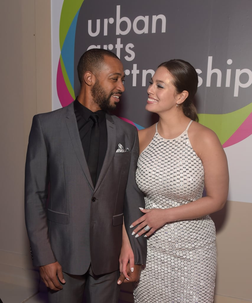10 Celebrity Wedding Details You Can Totally Copy On A: Ashley Graham And Justin Ervin Cute Pictures