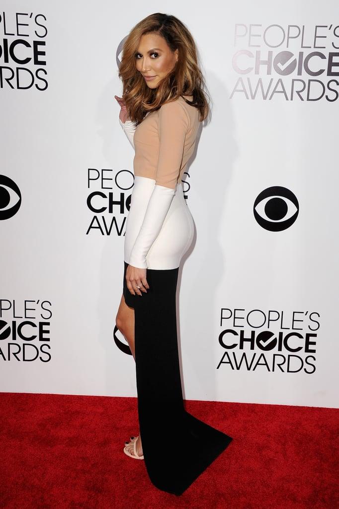 Naya Rivera at the People's Choice Awards 2014