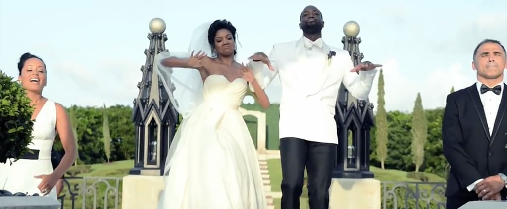 Gabrielle Union and Dwyane Wade May Have Just Created the Newest Wedding Trend