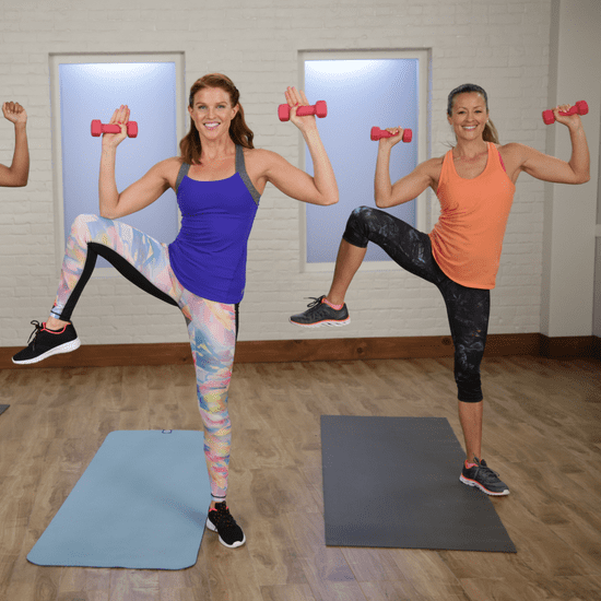 30-Minute Pilates-Based Cardio Workout
