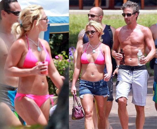 Picturs of Britney Bikini with Jason