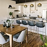 Chic and Modern Kitchen/Dining Room Zoom Background
