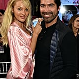 Pictured: Candice Swanepoel and Brian Atwood