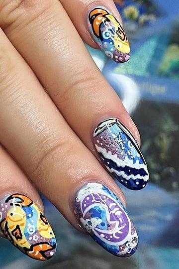 Tarot Card Nail Art