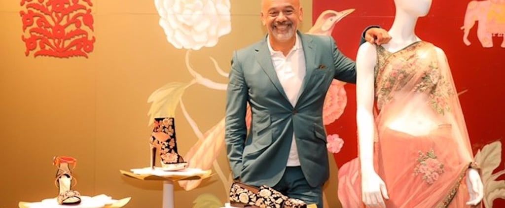 Christian Louboutin Launched His New Shoe Collection at the World's Biggest Mall and OMG