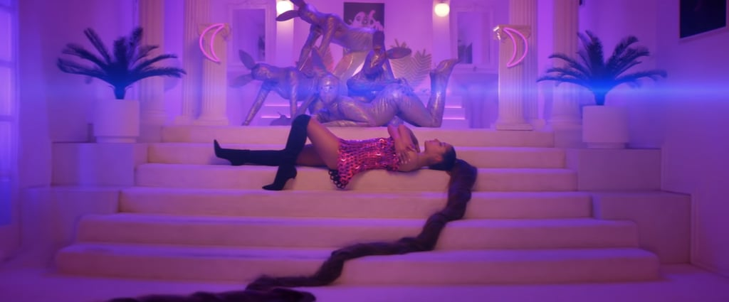 Ariana Grande With Her Miles Long High Ponytail In Quot 7