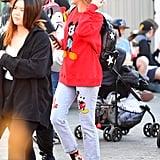 Miley Cyrus Disney Outfit April 2019