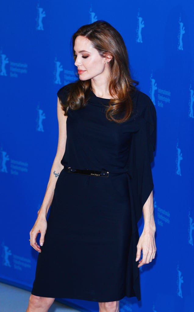 Angelina Jolie's press day.