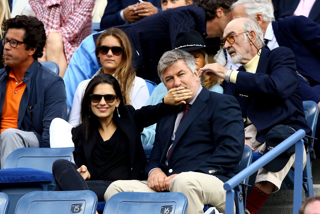 Hilaria Thomas joked around with her husband, Alec Baldwin.