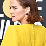 Zoey Deutsch's Flipped Out Bob at the 2020 Golden Globes