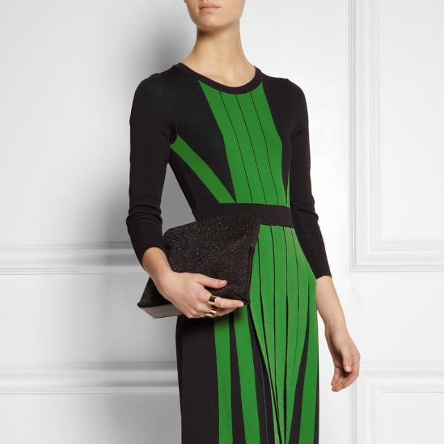 Michael Michael Kors Pleated Green Dress | Review