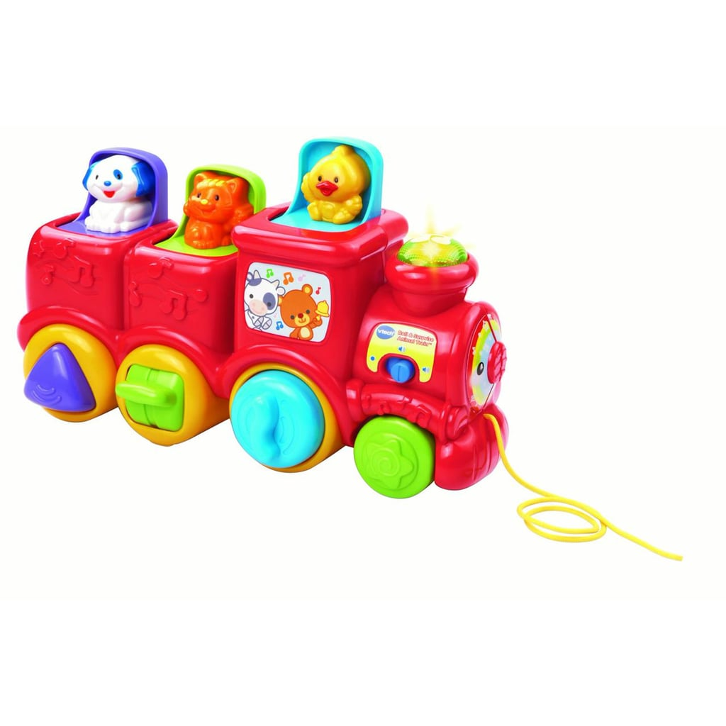 Roll and Surprise Animal Train