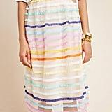 Frankie Textured Tulle Midi Skirt