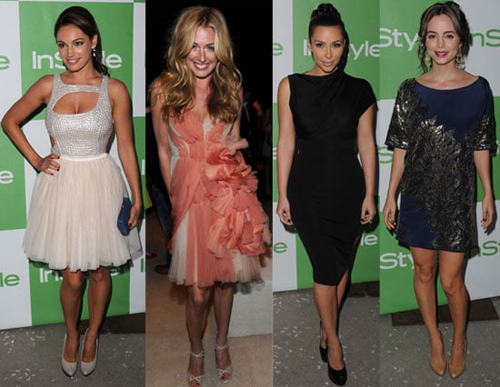 Kelly Brook, Cat Deeley, Kim Kardashian, Eliza Dushku and More at the InStyle Party