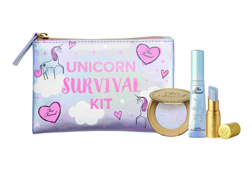 Too Faced Just Dropped the Unicorn Survival Kit You've All Been Waiting For
