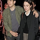 Keira Knightley and James Righton together in London.
