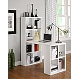 Ameriwood Home London Hobby Desk With Storage Cubes