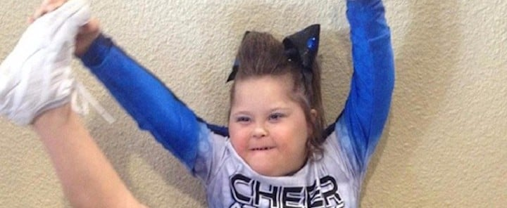 This 13-Year-Old With Down Syndrome Is Fighting For Her Right to Cheer