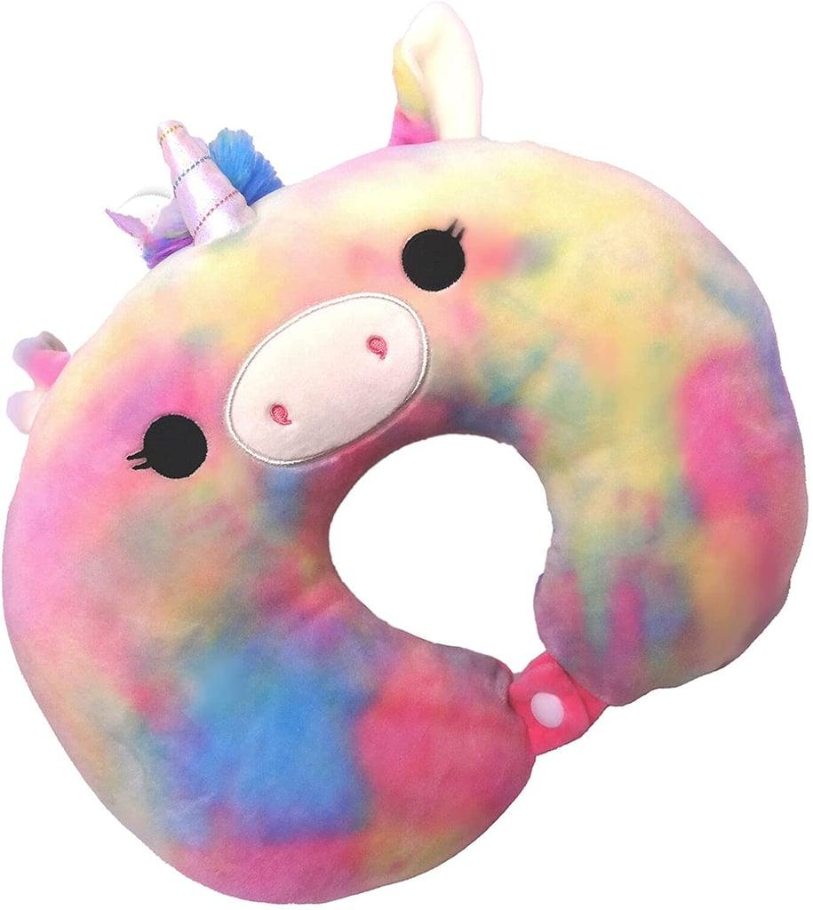 Esmerelda the Unicorn Squishmallow Neck Pillow