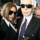 With Another Iconic Sunglass Connoisseur, Karl Lagerfeld