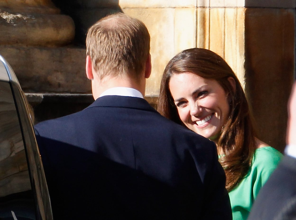 Kate Middleton and Prince William in Scotland.