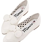 Minnie Mouse Bow Tie Loafers in White ($48)