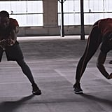 Kevin Hart and Serena Williams's Warmup Video