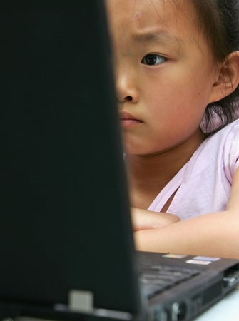 Study Finds More Girls Using Computers than Boys