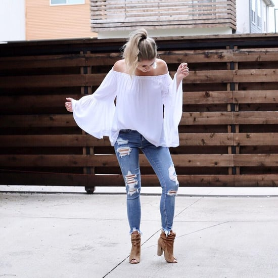 Off-the-Shoulder Top Outfit Ideas