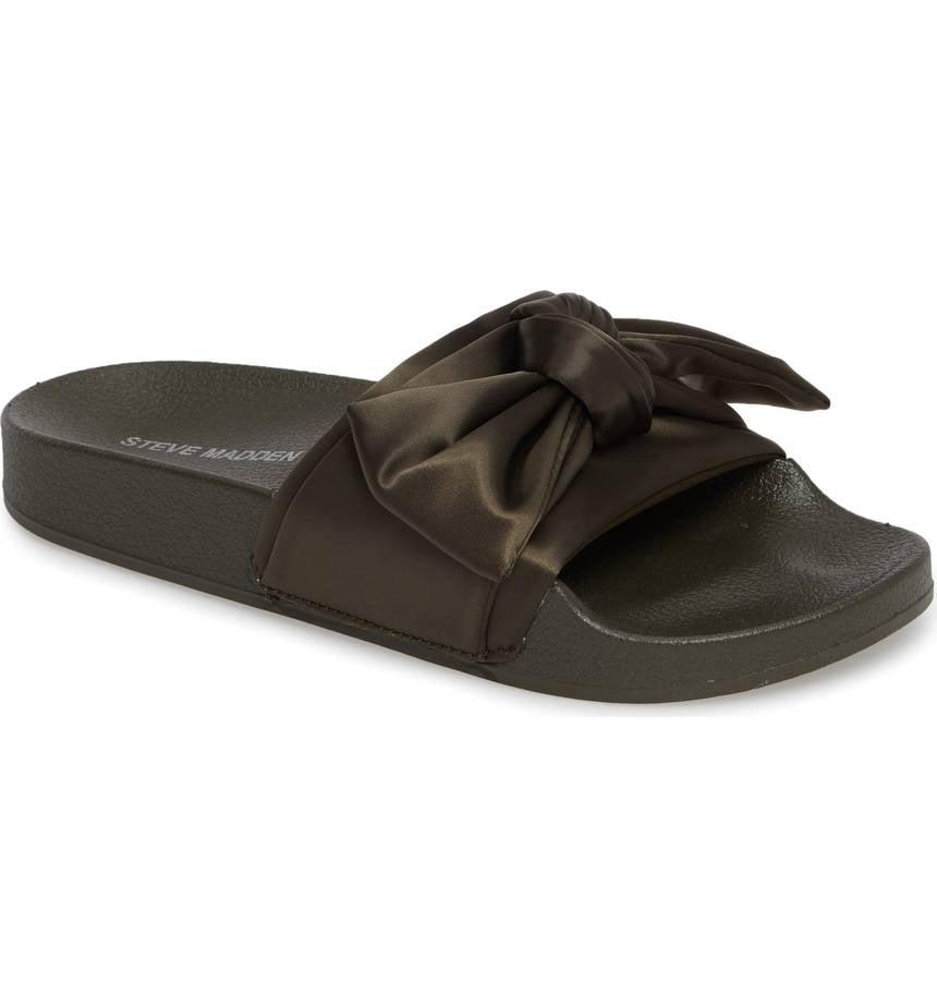 56f906158ce Steve Madden Silky Slide Sandal