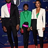 Gabrielle Union, Dwyane Wade, Zaya Wade Truth Awards Outfits