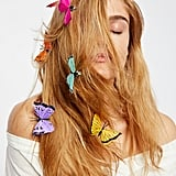 Butterfly Hair Clip 7-Pack – Rainbow