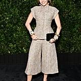 Miley Cyrus and Liam Hemsworth at Chanel Oscar Preparty 2019
