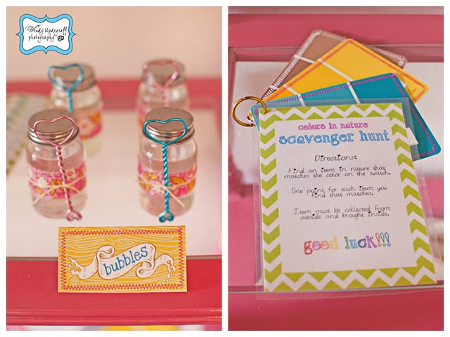 Girlie Camp-Themed Birthday Activities