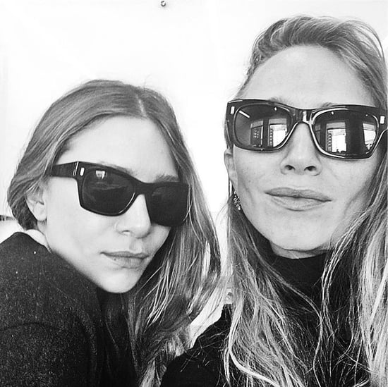 Mary-Kate and Ashley Olsen Sunglass Selfie on Instagram