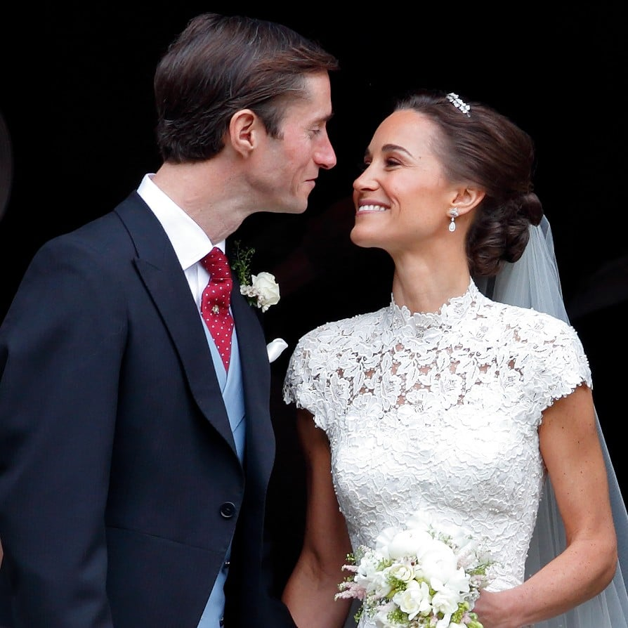Pippa Middleton S Wedding Earrings Popsugar Fashion