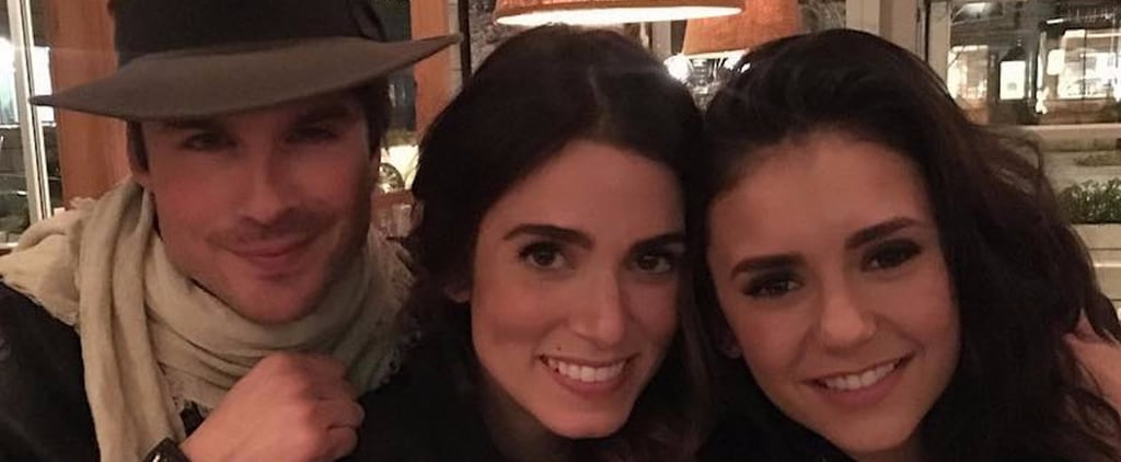 Nikki Reed and Nina Dobrev Instagram Pictures February 2017