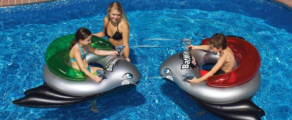 Target Pool Floats With Built-in Water Squirters