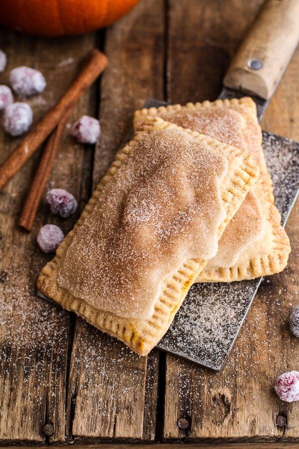 Cinnamon Sugar Nutella Pumpkin Pie Pop Tarts