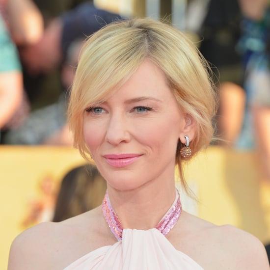 Cate Blanchett's Hair and Makeup at SAG Awards 2014